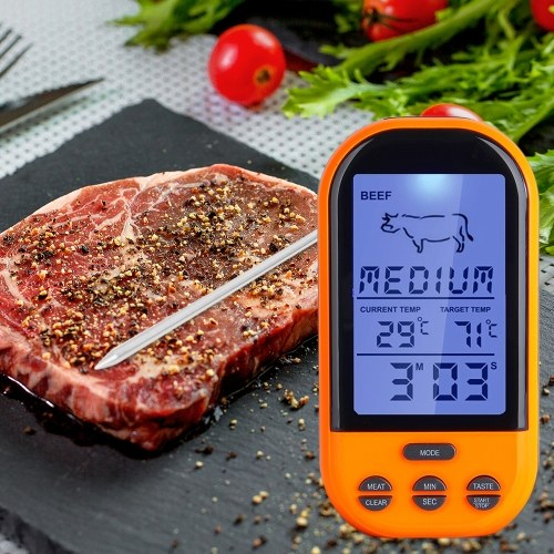 Termometro digitale wireless remoto Termometro per carne