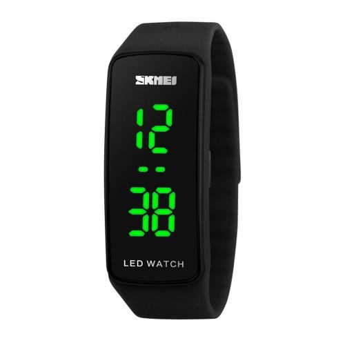 SKMEI Fashion coole Digital LED Sport Silikon Armband Student Jelly Watch Unisex: diesem Artikel paar Armbanduhr