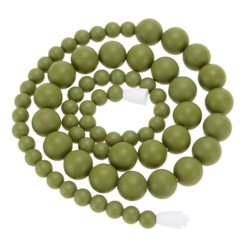 Comida 100% grado dentición mordedor collar perlas suave de niño del bebé mastique joyas de juguete para mamá llevar BPA libre de enfermería