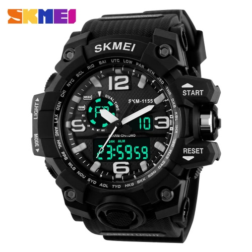 SKMEI LED Military Wasserdichte Armbanduhr