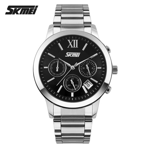 2c67c335f5 SKMEI 高級ブランド スポーツ防水ストップウォッチ ファッション メンズ腕時計ビジネス完全鋼腕時計カジュアルで