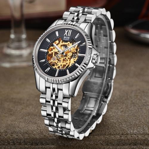 Angela Bos Luxury Automatic Mechanical Wristwatch