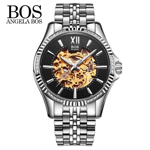 Angela Bos Relógio de pulso mecânico automático de luxo