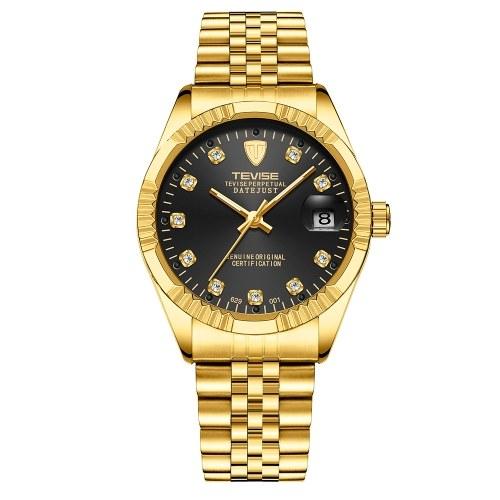 TEVISE Men Brand Watch Fashion Luxury Wristwatch