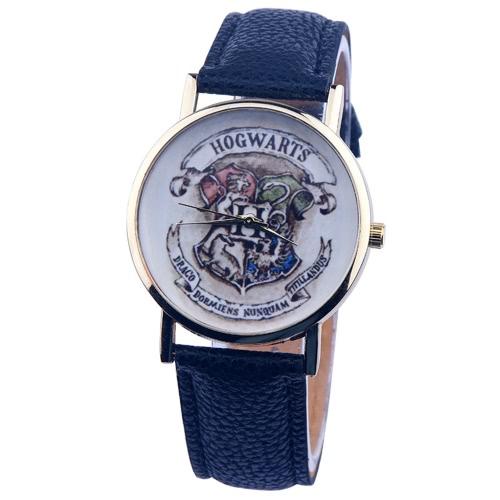OKTIME Art- und Weisefrauen-Mann-Armbanduhr-beiläufige Luxux modische Edelstahl-Leder-Gurt-Quarz-Uhr-Geschenke
