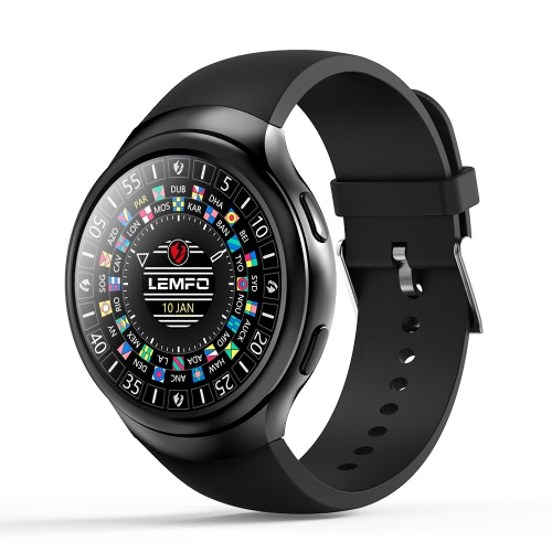 61% OFF LEMFO LES2 3G Smart Watch Phone,limited offer $98.99