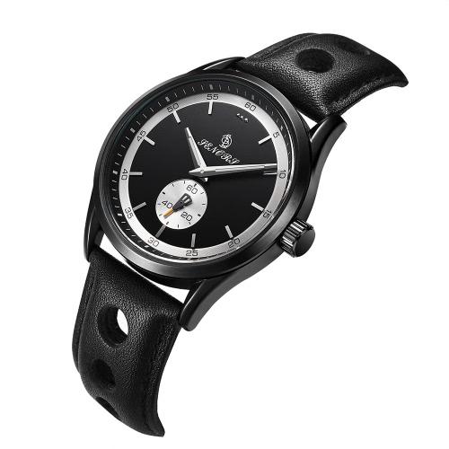 SENORS SN016 Fashion Casual 3ATM Orologio al quarzo resistente all'acqua
