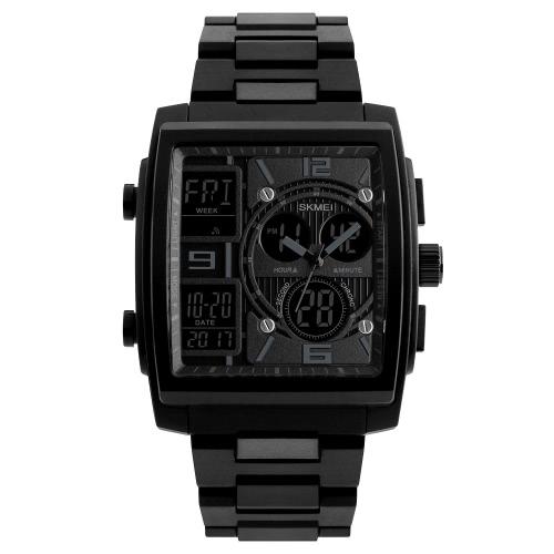 SKMEI 5ATM resistente à água relógio moda relógio digital casual
