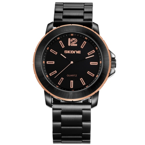 SKONE Модные повседневные часы 3ATM Водонепроницаемые кварцевые часы Мужские наручные часы Мужские