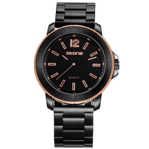 SKONE Fashion Casual Watch 3ATM Water-resistant Quartz Watch Men Wristwatches Male