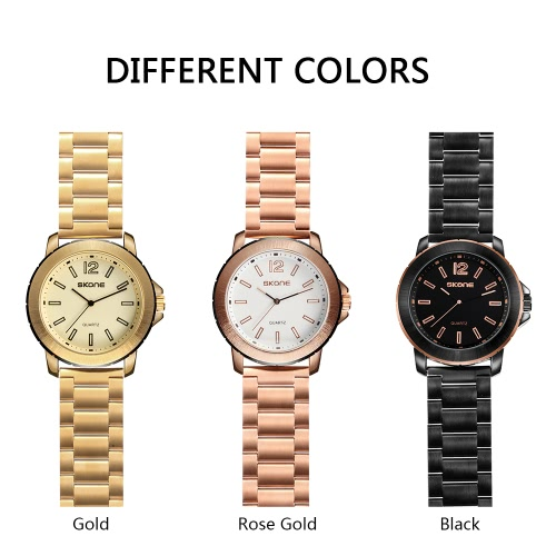 SKONE Fashion Casual Watch 3ATM Water-resistant Quartz Watch Men Wristwatches Male