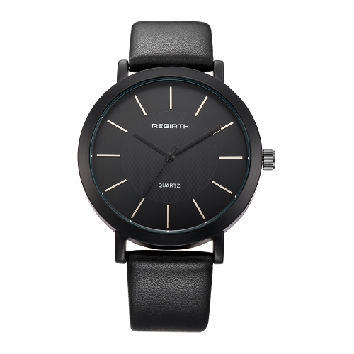 REBIRTH Fashion Casual Quartz Watch Life Water-resistant Watch Women Relógios de pulso Feminino
