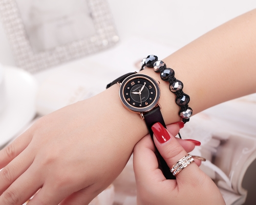 REBIRTH Fashion Casual Quartz Watch Life Water-resistant Watch Women Wristwatch Female