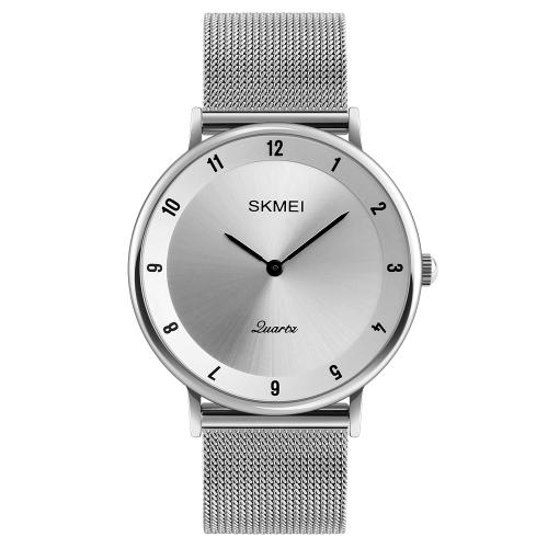 SKMEI mody przypadkowy zegarek kwarcowy 3ATM wodoodporny zegarek na rękę zegarki męskie mężczyzna
