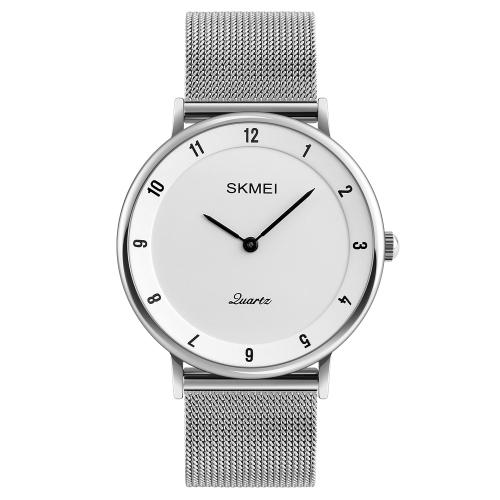 SKMEI Fashion Casual cuarzo reloj 3ATM reloj de pulsera resistente al agua hombres relojes hombre