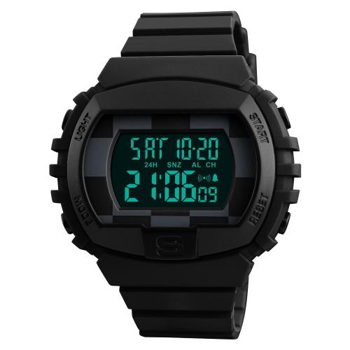SKMEI Sport Digital Watch 5ATM resistente à água homens relógios retroiluminação relógio de pulso macho Relogio Musculino