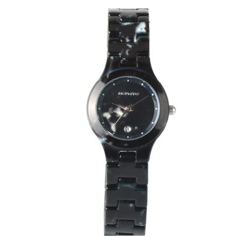 BEDATE Relógio de quartzo casual de moda 3ATM Relógio resistente à água Mulheres Relógios de pulso Calendário feminino