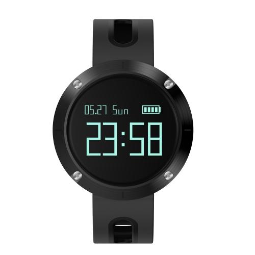"""Smart Watch 0.95 """"OLED Touchscreen BT 4.0 NRF51822 CPU Blutdruck / Pulsmesser Schrittzähler Smartwatch für Android 4.4 & iOS 8.0 oder höher"""