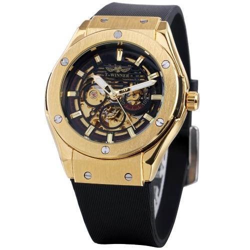 WINNER Luminous Luxury Automatic Mechanical Men Watch
