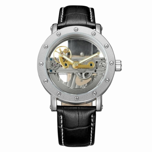 FORSINING  Mechanical Genuine Leather Men Watches