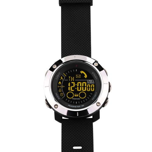 Sport Smart Watch FSTN Display BT 4.0 Fitness Tracker Pedometer Stopwatch Remote Control Camera Smart Wristwatch for iOS 7.0 & Adroid 4.3