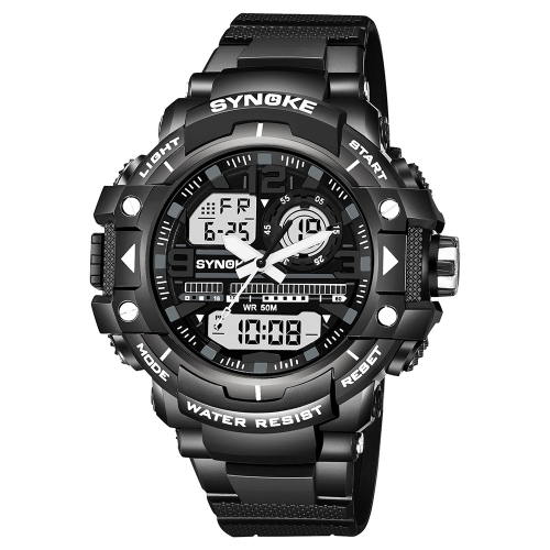 SYNOKE Sports Fashion Men Watches