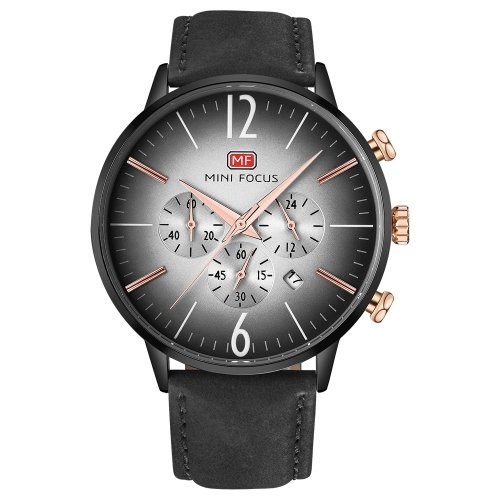 MINI FOCUS MF0114G-01 Fashion Genuine Leather Watches