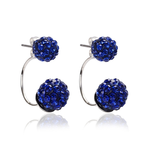 Moda Crystal Diamond Ball Ear Studs