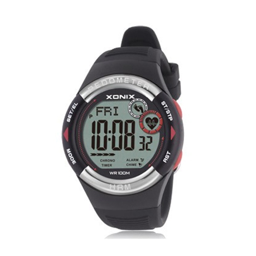 Digital Wristwatch Pedometer Outdoor Sports Waterproof Watch