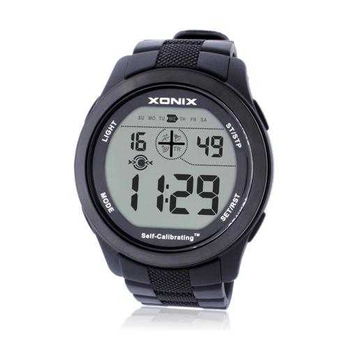 Relógio de pulso semiautomático preciso do relógio do diodo emissor de luz do Internet luminoso multifuncional dos esportes impermeável Digital Wristwatch