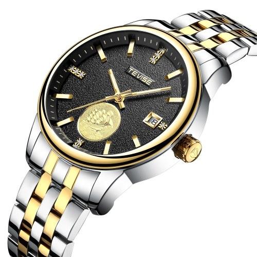 TEVISE Автоматические мужские механические часы Светящиеся водонепроницаемые спортивные часы мужские наручные часы фото