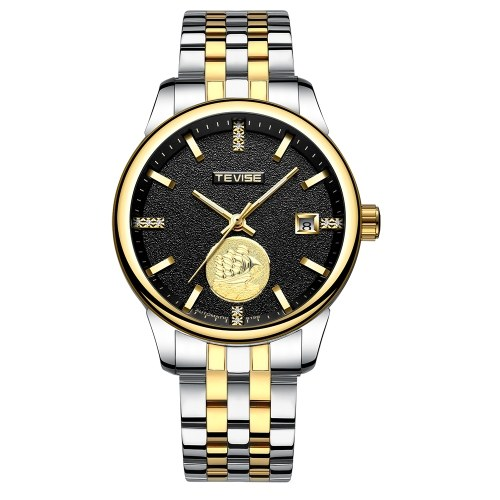 TEVISE Automatic Men Mechanical Watch Luminous Waterproof Sport Male Clock Business Wristwatch