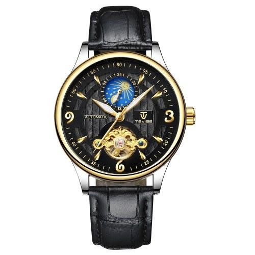 TEVISE reloj mecánico automático para hombres Reloj deportivo para relojes luminoso deportivo impermeable para hombre
