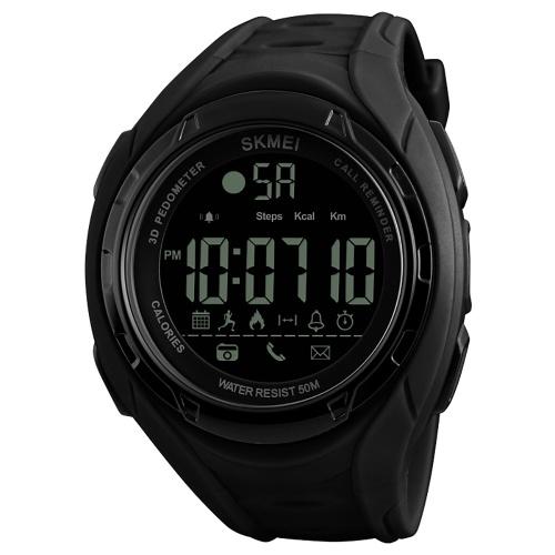 39173edb713 SKMEI 1316 relógio inteligente Analógico Pedômetro Digital Calorie  Rastreador de Fitness Assista Moda relógio esportivo Casual