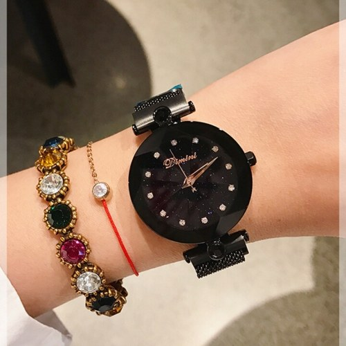Women Starry Sky Watches Waterproof Watch