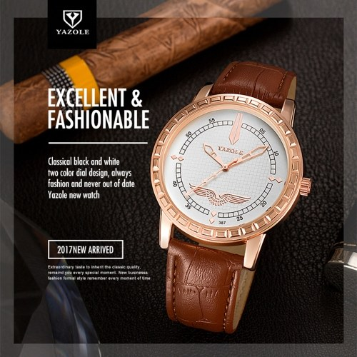 YAZOLE 387 Brand Luxury Man Watch Fashion Wrist Casual Business Watch