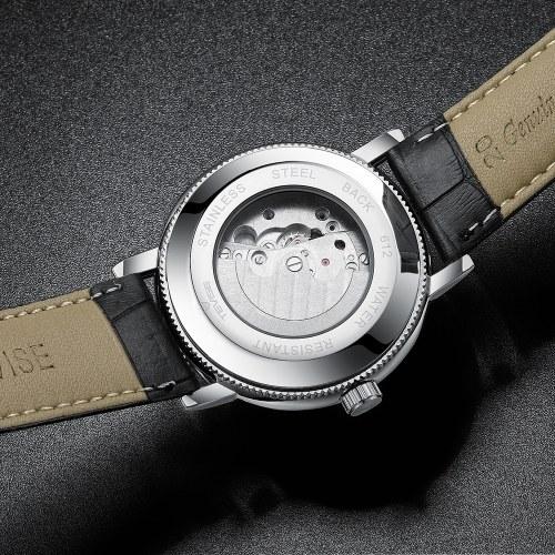 Automatyczny zegarek mechaniczny TEVISE T612 dla mężczyzn