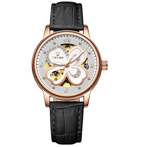TEVISE T835B Women Automatic Mechanical Watch