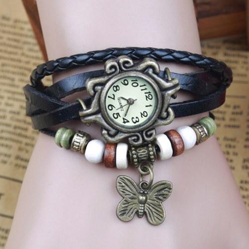 Orologio da polso fatto a mano vintage da donna