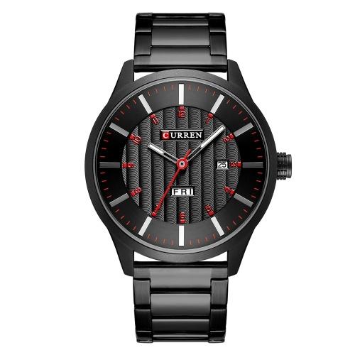 CURREN 8316 montre homme montre à quartz montre de poignet
