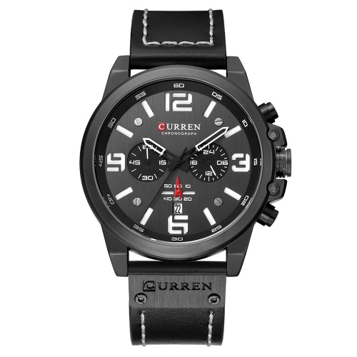 CURREN 8314 Men Watch Quartz Brand Watch Orologio da polso