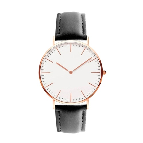 Men Women Fashion Simple Ultra-Thin Watch