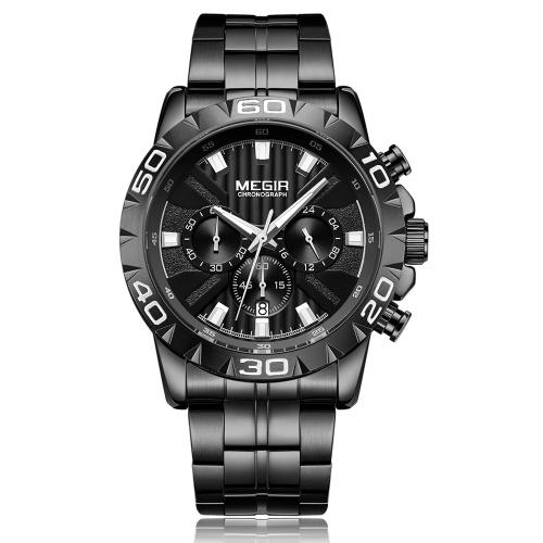 MEGIR 2087 Herrenuhr / Quarz Sport Einfache Armbanduhr
