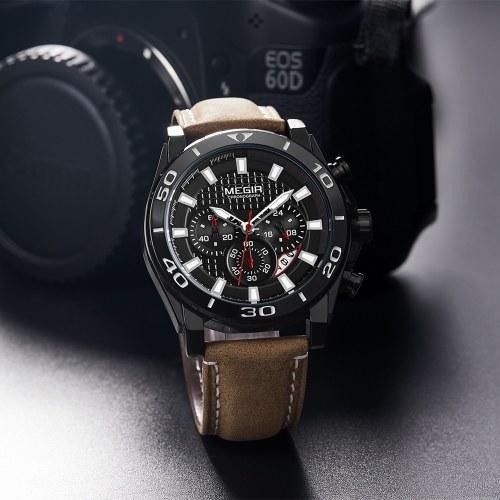 MEGIR 2094 Herrenuhr / Quarz Sport Einfache Armbanduhr
