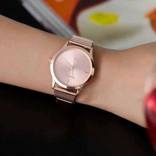Image of Weibliche Uhren Frauen Luxus Quarzuhr Edelstahl Kleid Uhren Weihnachtsgeschenk Dame Uhren Eleganz Armbanduhren