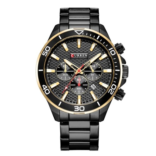 CURREN 8309 Men Sport Quartz Watch
