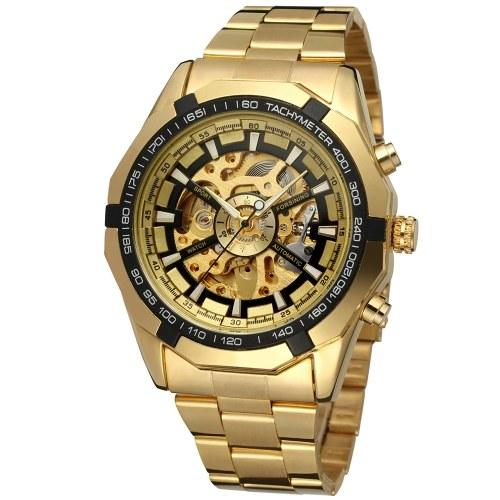 Forsining 340 Top Brand Automatic Mechanical Business Men Watch Skeleton Luxury Watch...