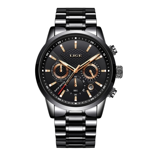 LIGE 9866 Men Watch
