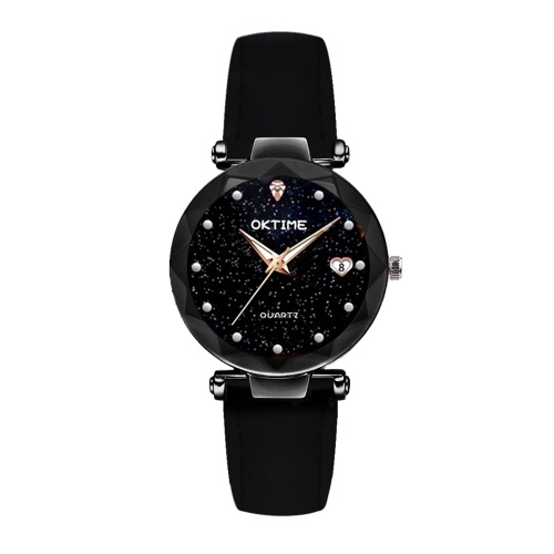 Mulheres Moda Brilhante Starry Night Dial Watch
