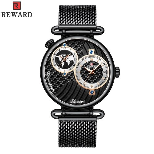 REWARD Men Sport Watches Waterproof Outdoor Wristwatch